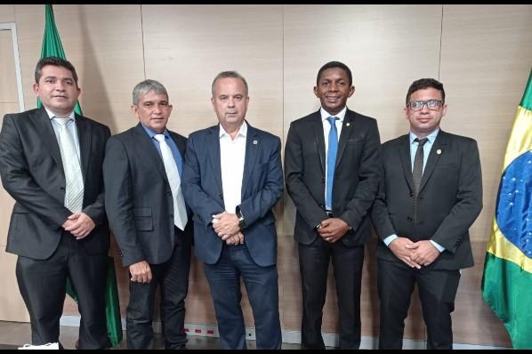 Prefeito Domingos França se reúne com Ministro do Desenvolvimento Regional