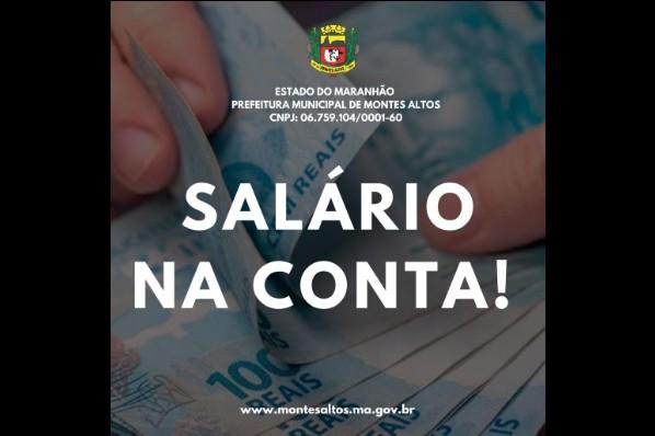 Prefeitura efetua pagamento salarial do funcionalismo nesta sexta-feira (30)