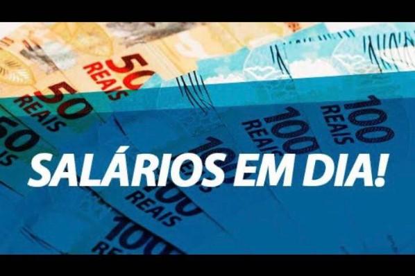 Prefeitura finaliza pagamento dos salários em atraso referentes a dezembro