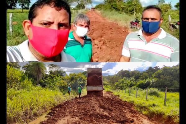 Prefeitura de Montes Altos recupera pontos críticos da estrada da Soltinha