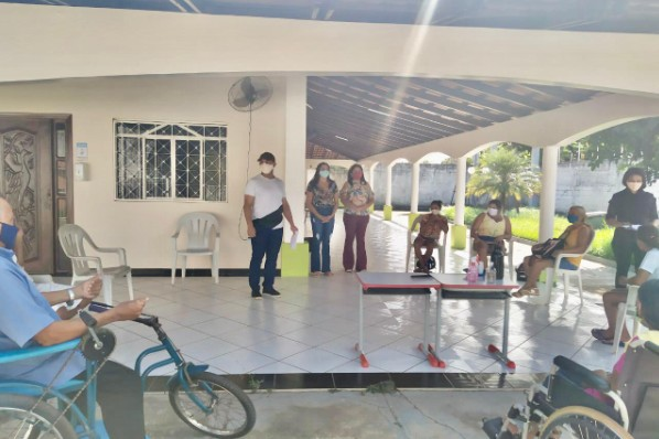 SEMAS realiza oficina e destaca direitos da pessoa com deficiência