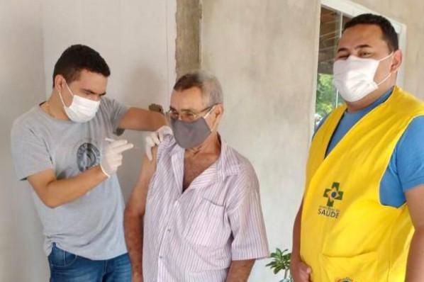 Vacinação contra Covid-19 em Montes Altos é destaque no Maranhão